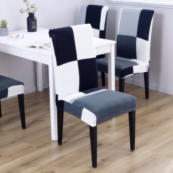 Box Cushion Dining Chair Slipcover (Set Of 4) By Red Barrel Studio