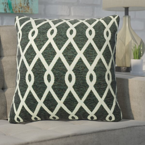 Defino Chain Link Throw Pillow by Ivy Bronx