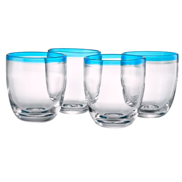 Williamsville 12 Oz. DOF Glass (Set of 4) by Three Posts