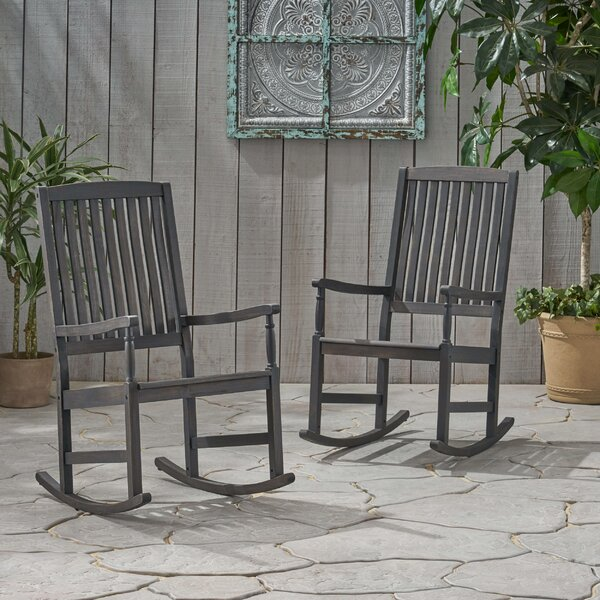 Lincolnwood Rocking Chair (Set of 2) by Highland Dunes