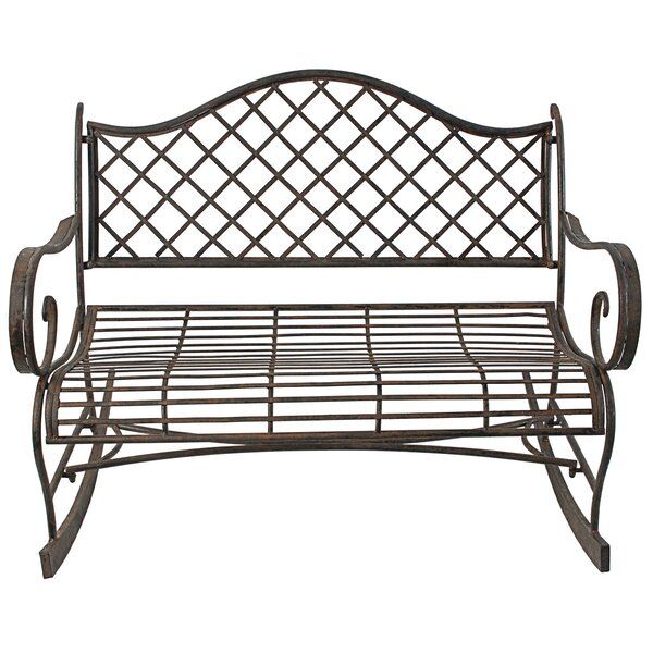 Alisz Outdoor Rocking Bench by Darby Home Co