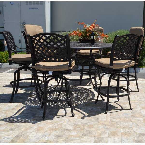 Nola 7 Piece Bar Set by Darby Home Co Darby Home Co