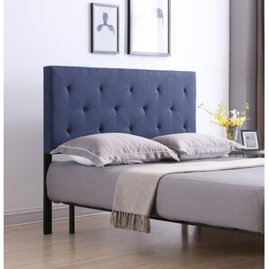 Fredricks Upholstered Panel Headboard by Andover Mills