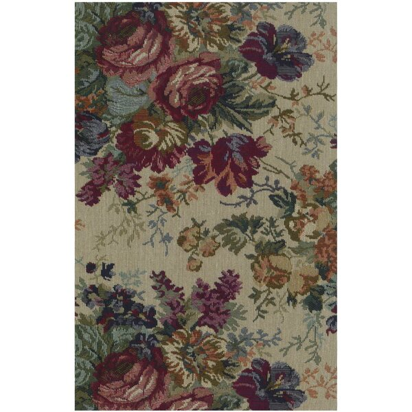 Tapestry Rose Bouquet Futon Slipcover by Blazing Needles