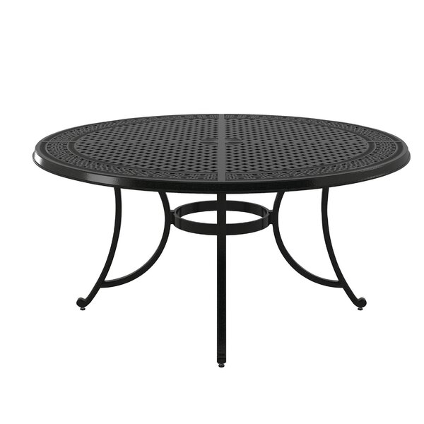 Berglund Aluminum Dining Table by Darby Home Co