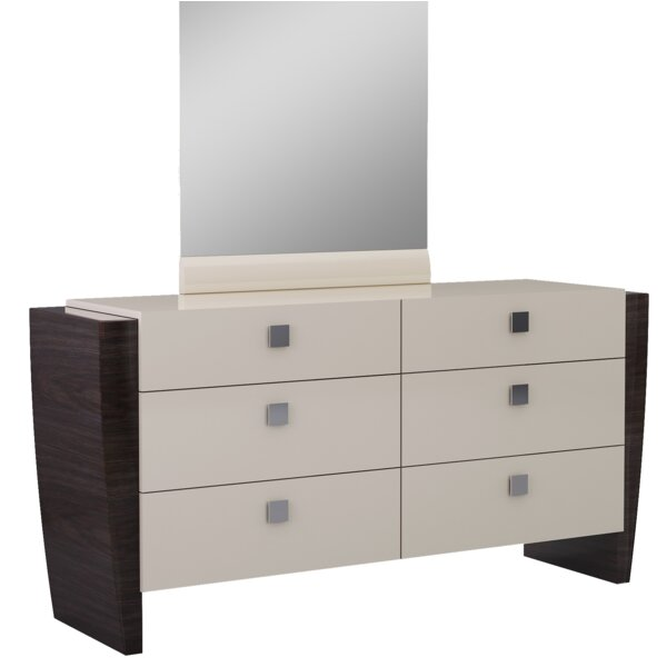 Hailee 6 Drawer Double Dresser by Orren Ellis