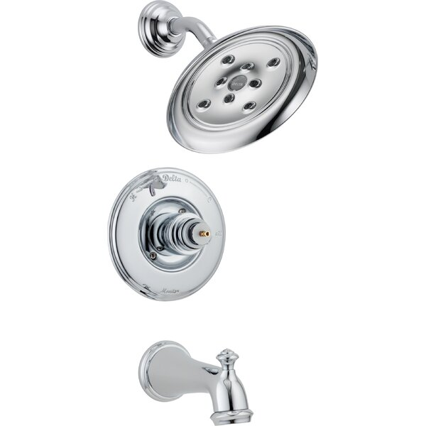 Victorian Thermostatic Tub And Shower Faucet With Trim And Monitor By Delta