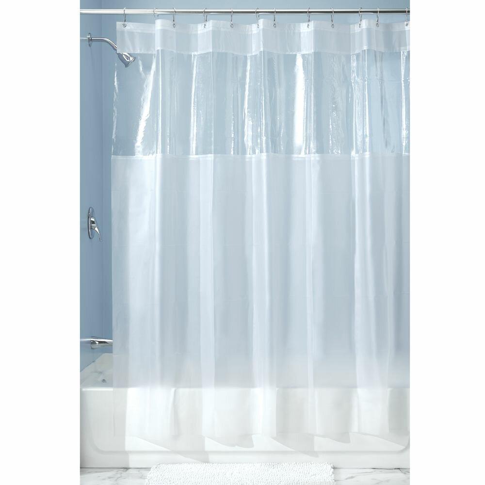 InterDesign Hitchcock Vinyl Shower Curtain & Reviews | Wayfair