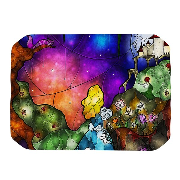 Fairy Tale Alice in Wonderland Placemat by KESS InHouse