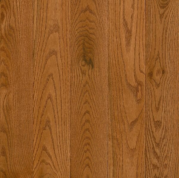 Prime Harvest 5 Solid Oak Hardwood Flooring in Low Glossy Gunstock by Armstrong Flooring
