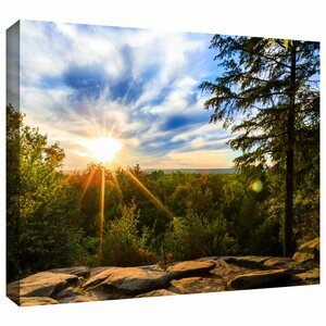 'Virginia Kendall 2' Photographic Print on Wrapped Canvas by Loon Peak