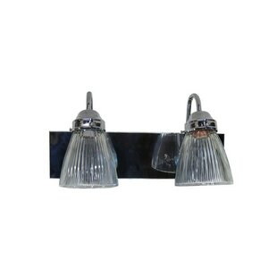Great Price Kaleigh 2-Light Vanity Light By Winston Porter