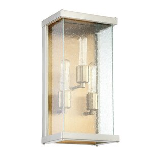 Low priced Anguiano 3-Light Outdoor Wall Lantern By Brayden Studio