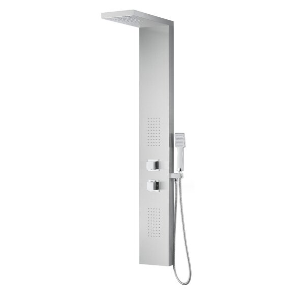 Expanse Series Fixed Shower Head Shower Panel Syst