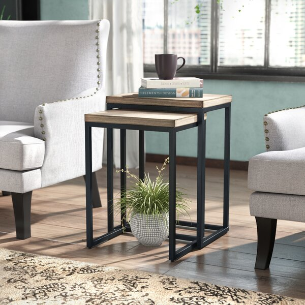 Bercut 2 Piece Nesting Tables by Trent Austin Design