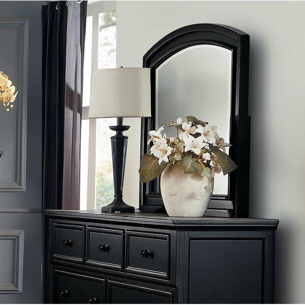 Ulverst Arched Dresser Mirror by Charlton Home