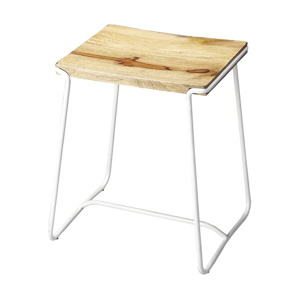 Miles City Accent Stool by August Grove