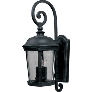 Reviews Arsenault 3-Light Outdoor Wall Lantern By Darby Home Co