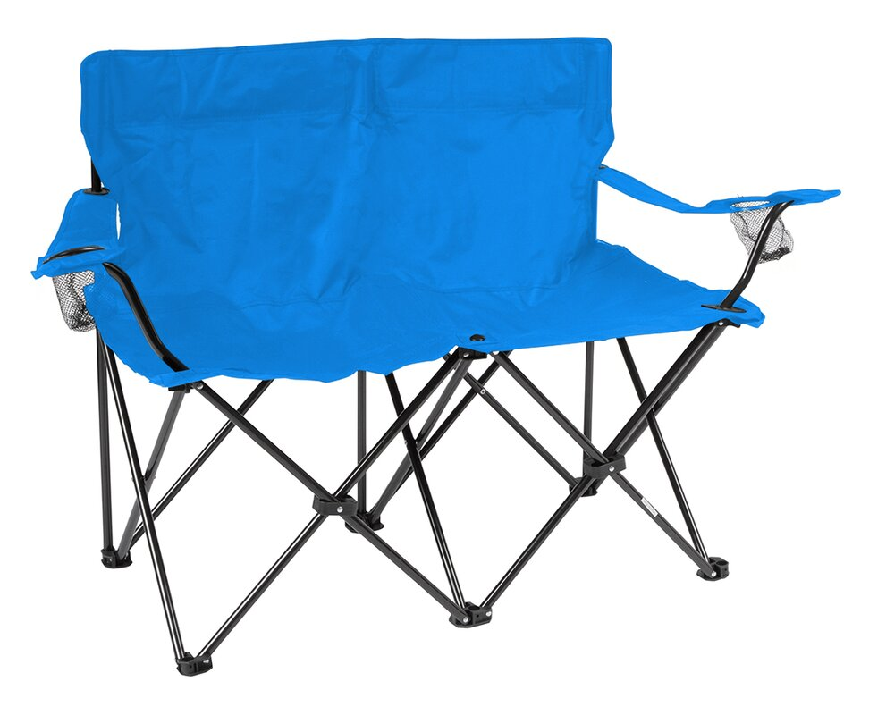 seat chair trail walmart ip loveseat person camping love folding ozark com