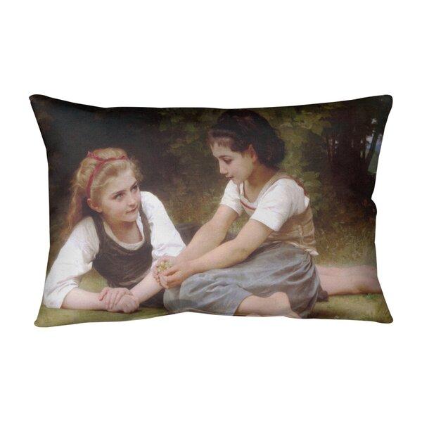 The Nut Gatherers Indoor/Outdoor Lumbar Pillow
