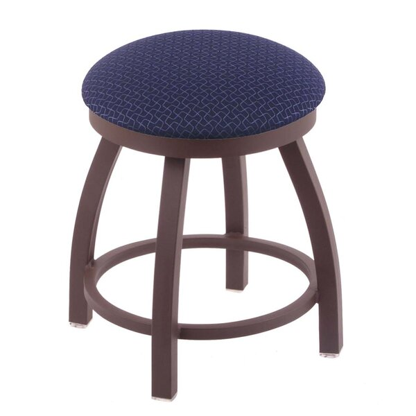 Cragin 18 Swivel Accent Stool with Cushion by Wrought Studio