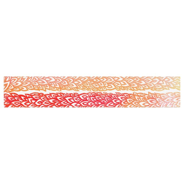 Pom Graphic Design Leafs from Paradise Table Runner by East Urban Home