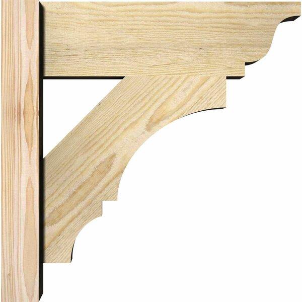 Balboa Traditional Rustic Wood Outlooker Bracket by Ekena Millwork