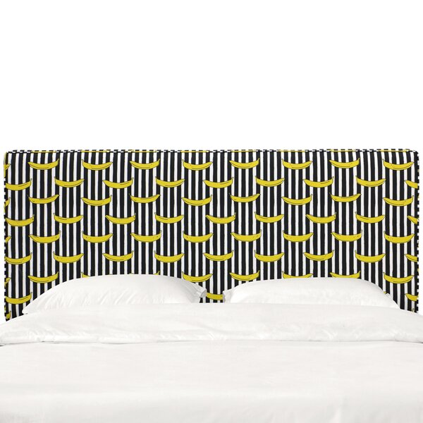 Eakes Seam Upholstered Panel Headboard by Wrought Studio