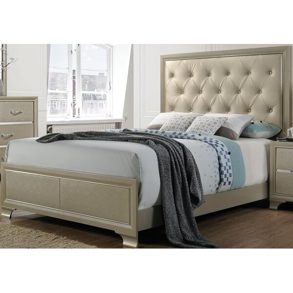 Zed Upholstered Standard Bed by House of Hampton