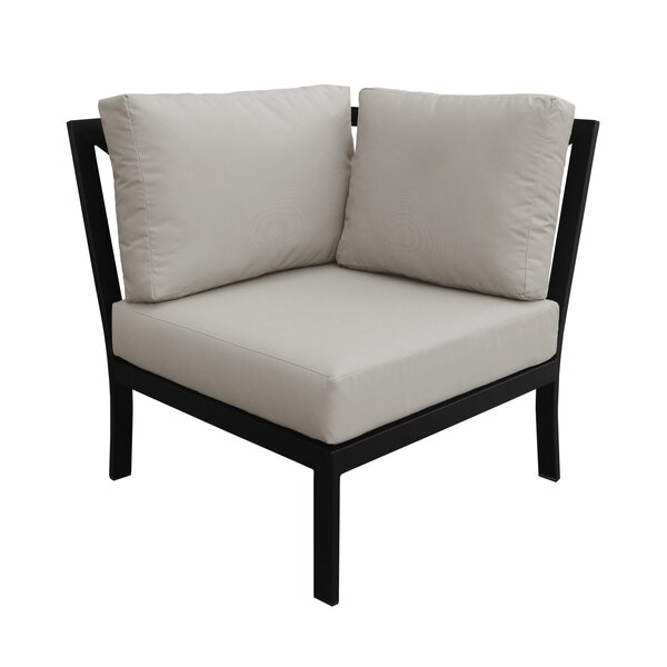 Madison Patio Corner Chair by kathy ireland Homes & Gardens by TK Classics