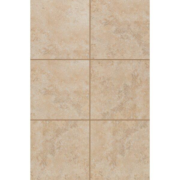 Medfordton Floor Glazed 20 x 20 Porcelain Field Tile in Sandy Desert by Mohawk Flooring