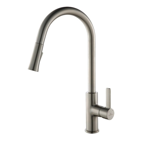 Pull Down Single Handle Kitchen Faucet by Blossom