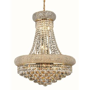 Bargain Jessenia 14-Light Crystal Chandelier By Willa Arlo Interiors