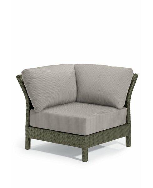 Evo Corner Patio Chair with Cushions by Tropitone