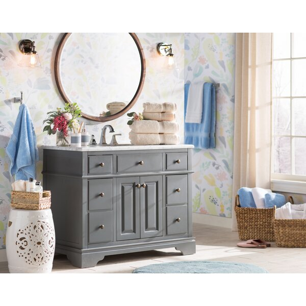 Arvilla 42 Single Bathroom Vanity Set by Charlton Home