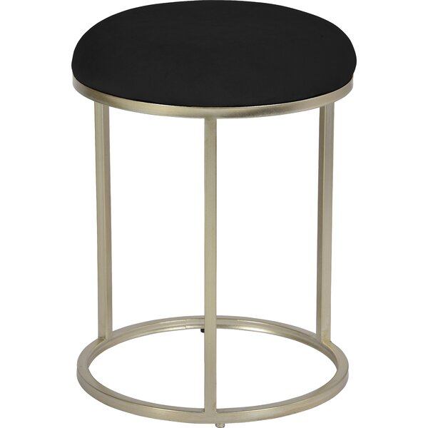 Mckissick Accent Stool by Latitude Run