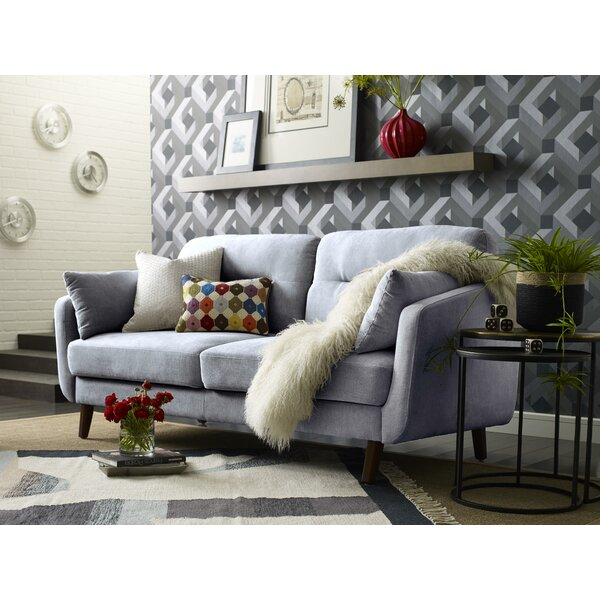 Chloe Mid-Century Modern Sofa by Elle Decor