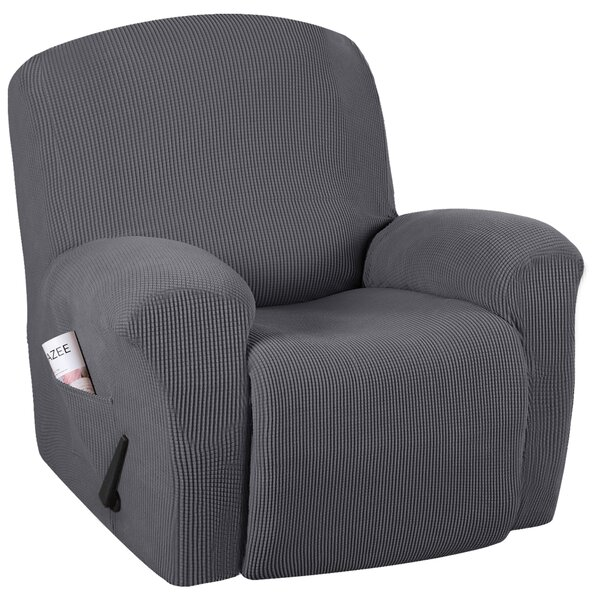 Spandex Box Cushion Recliner Slipcover By Red Barrel Studio®