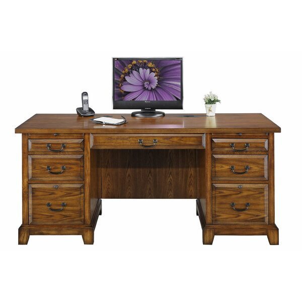 Schueller Executive Desk by Darby Home Co