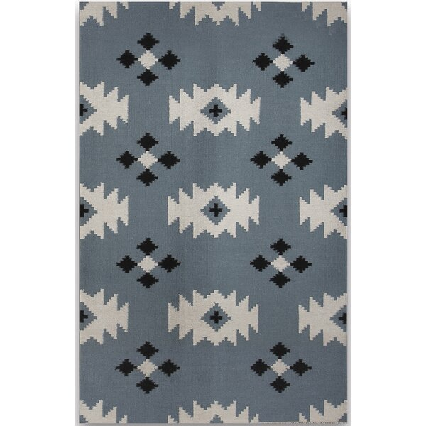 Shelburne Blue Area Rug by Union Rustic