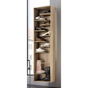 Woody Shoe Rack With 11 Compartments