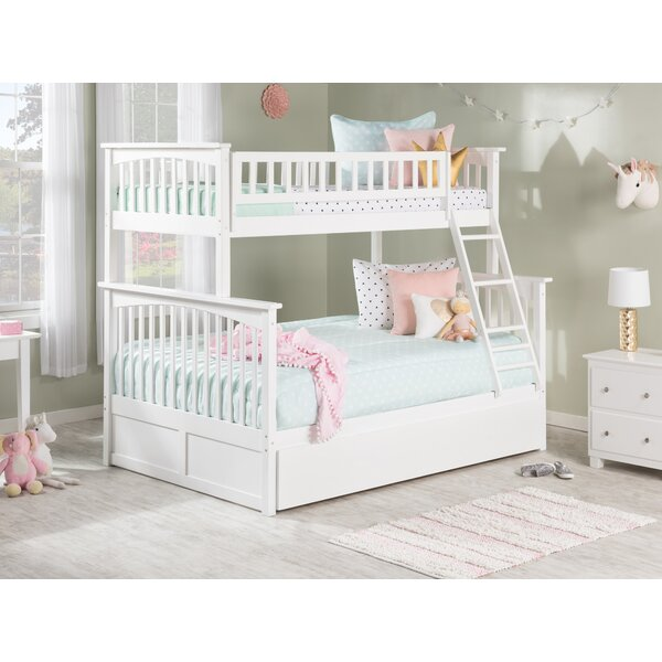 Abel Twin Over Full Bunk Bed with Trundle by Harriet Bee