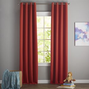 Leslie Blackout Thermal Curtain Panels (Set Of 2)