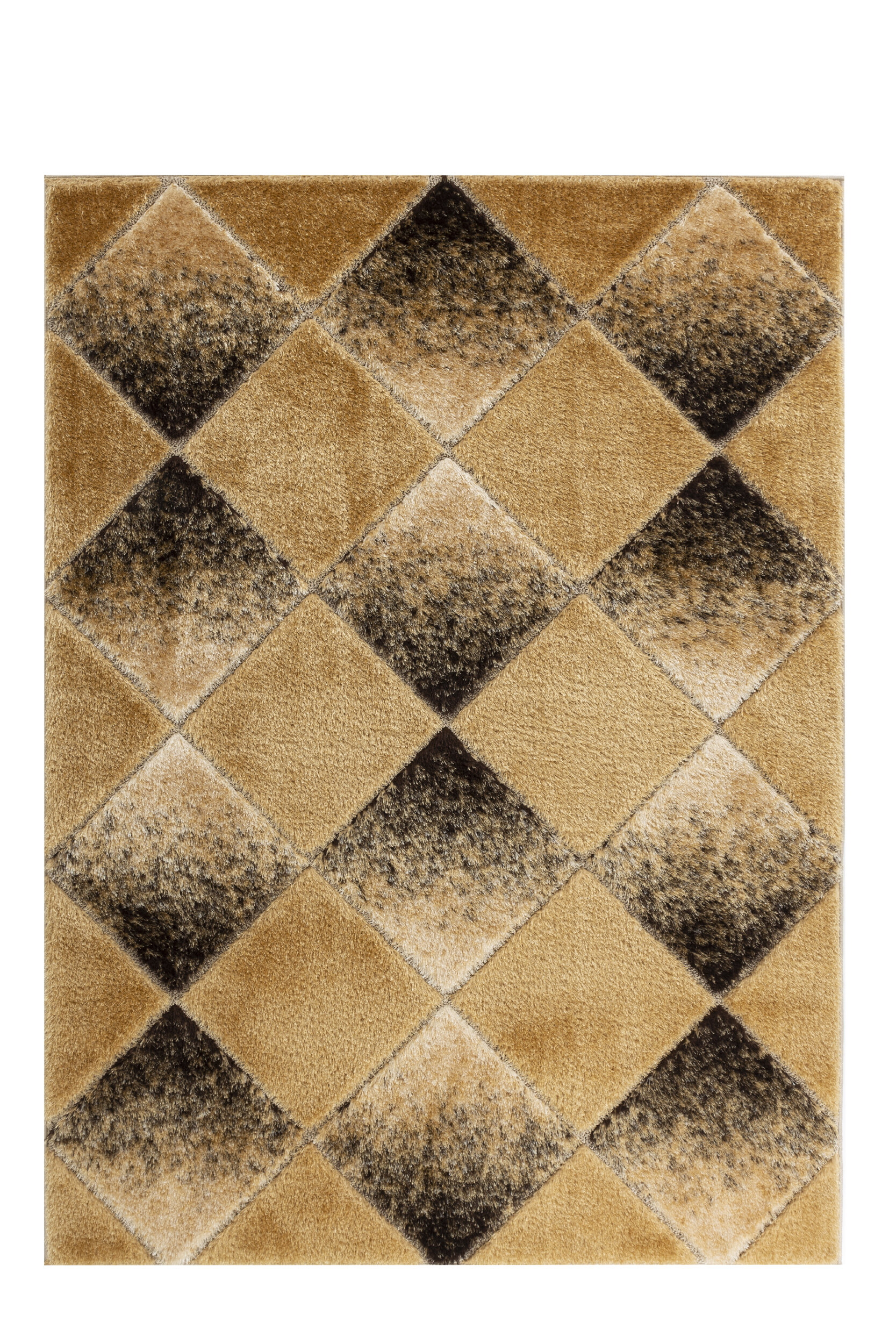 Latitude Run Yarra Geometric Modern Soft Gold Brown Area Rug Wayfair