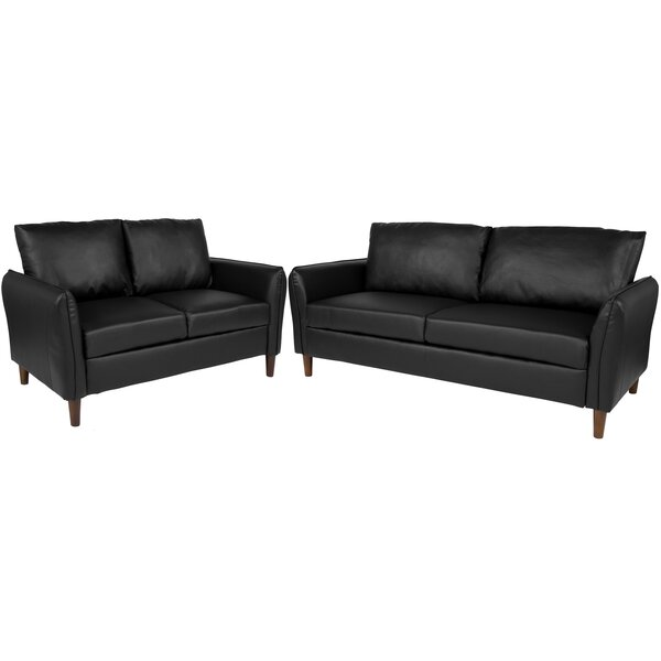 Oneill Upholstered 2 Piece Living Room Set by Williston Forge