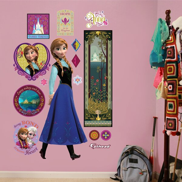 RealBig Disney Frozen Anna Wall Decal by Fathead