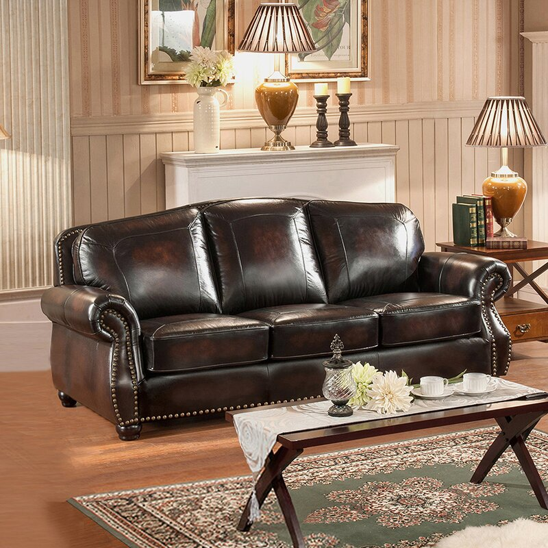 Amax vail 2 piece leather living room set reviews 2 piece leather living room set