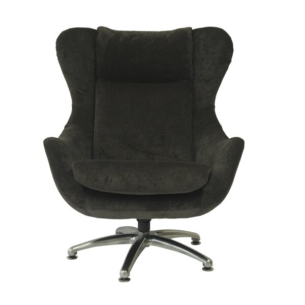 Commander Swivel Wingback Chair by Fox Hill Trading