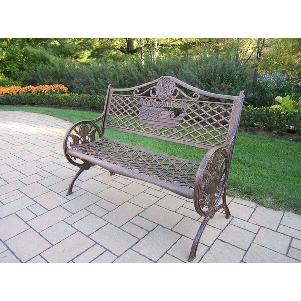 God Bless America Garden Bench by Oakland Living