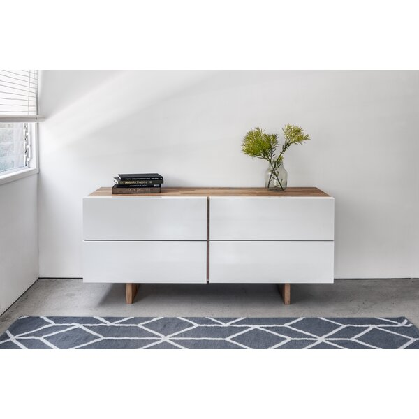 Middendorf 4 Drawer Double Dresser by George Oliver